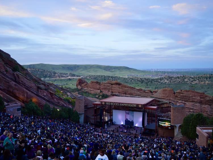 Red Rocks Amphitheatre, Colorado