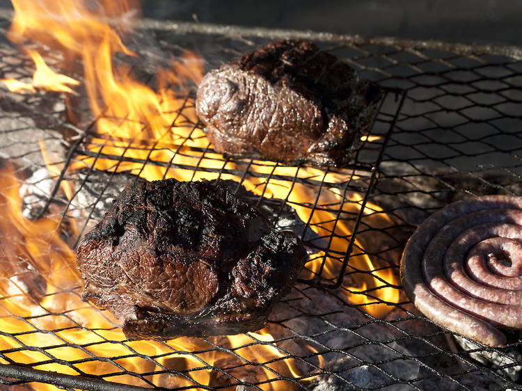 Grilling alfresco in South Africa