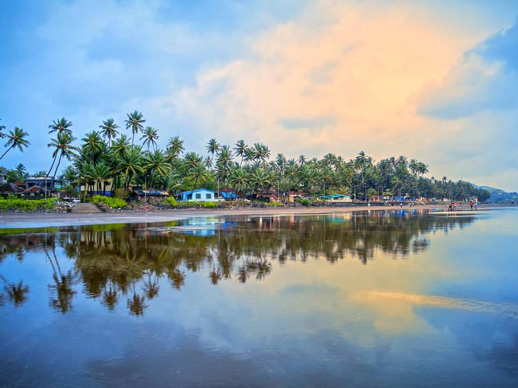 Beachside feast in Konkan
