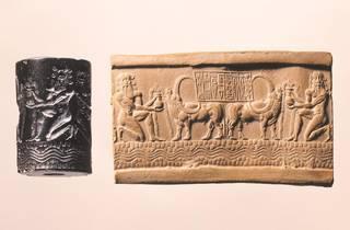 Cylinder Seal of the Royal Scribe Ibni-Sharrum