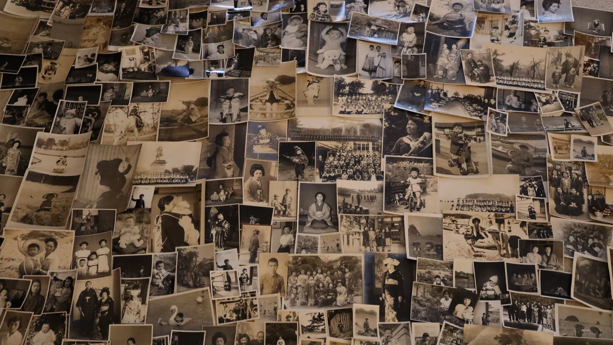 Collection of photographs from Untitled.Showa