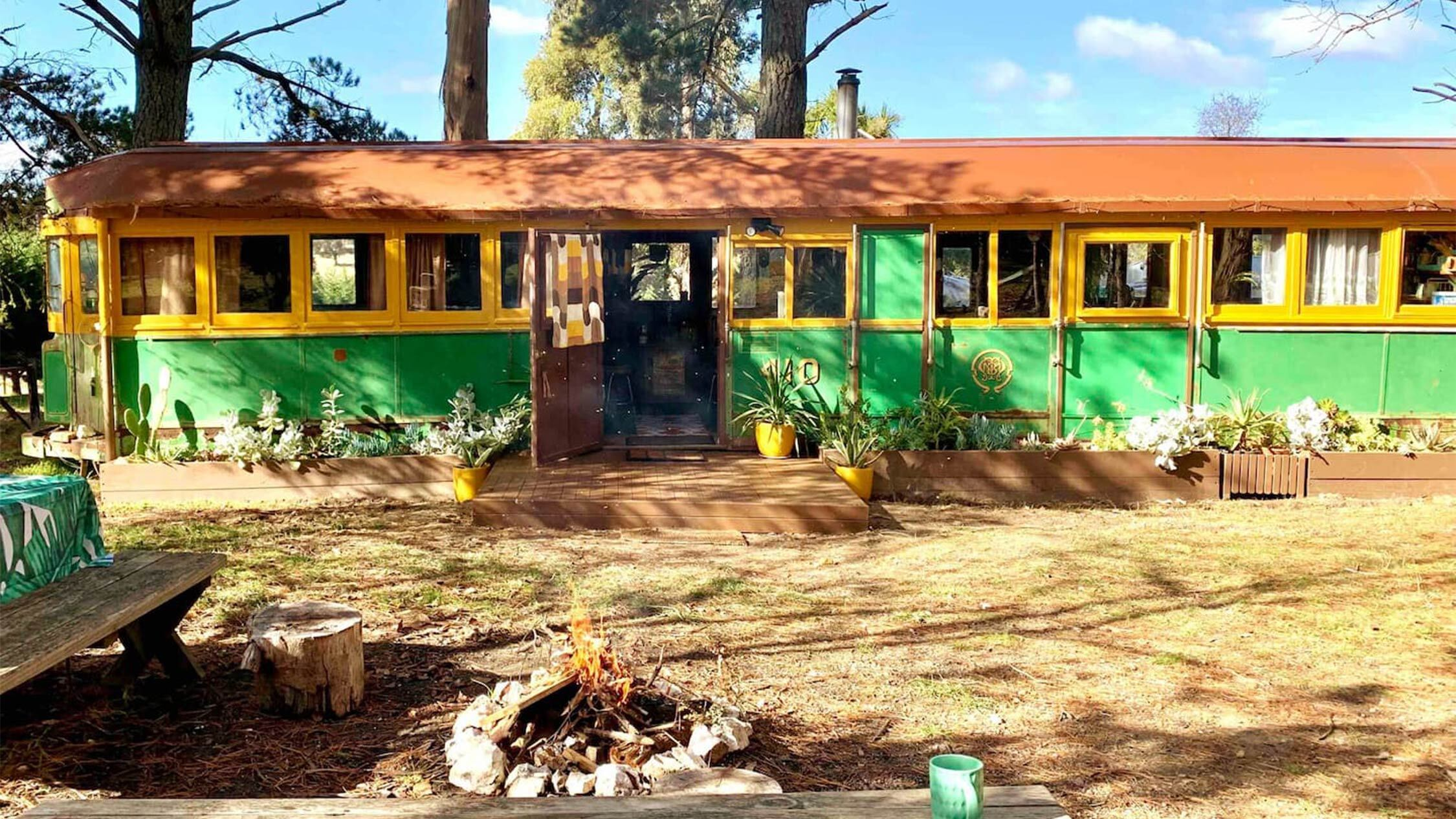You can now stay in a vintage 1920s tram in country Victoria