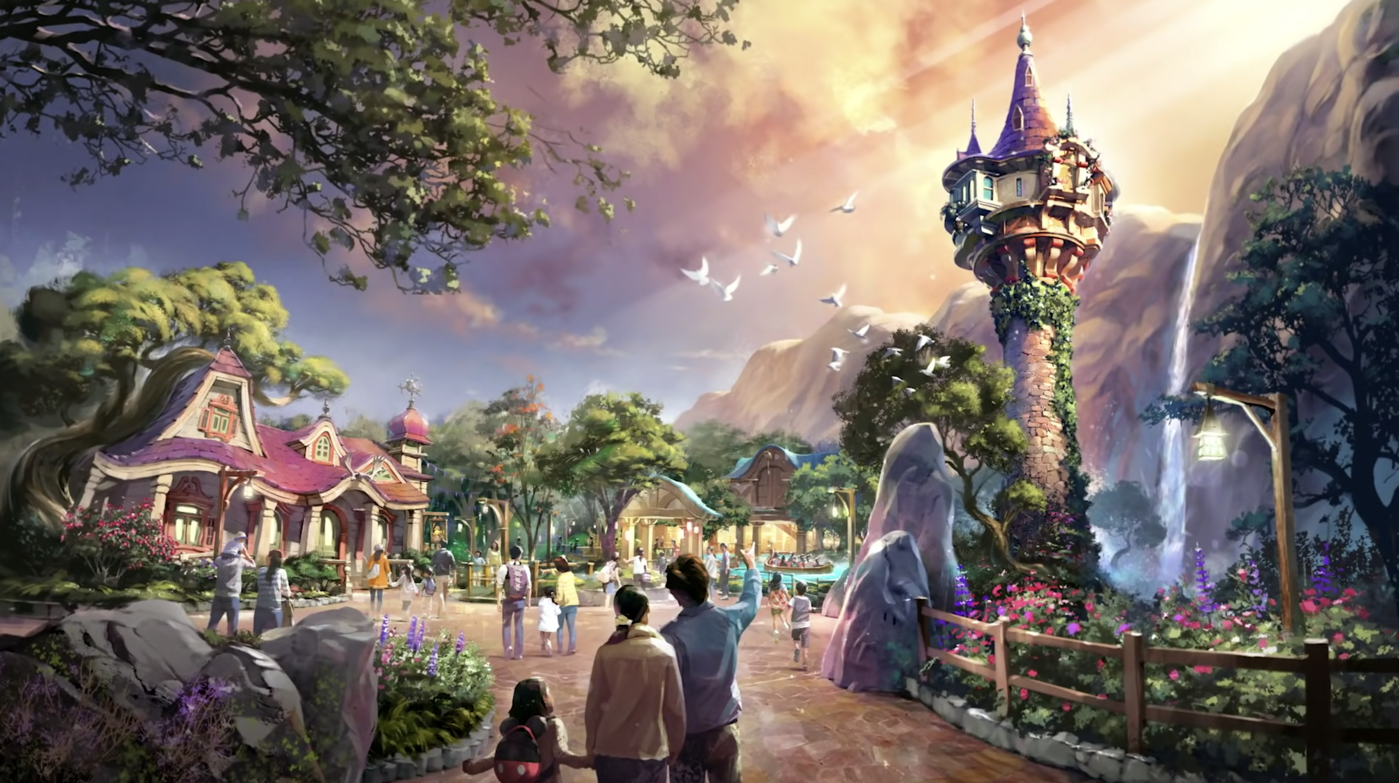First look: Fantasy Springs at Tokyo DisneySea will feature Frozen, Tangled and Peter Pan