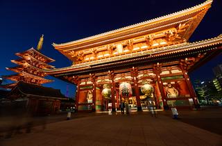 Asakusa Sensoji night walk