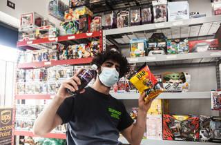 Shopkeeper at La Estrella Mini Mart