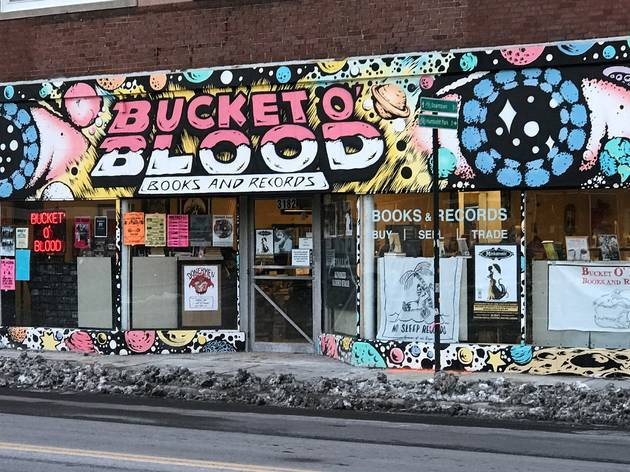 Bucket o' Blood Books and Records