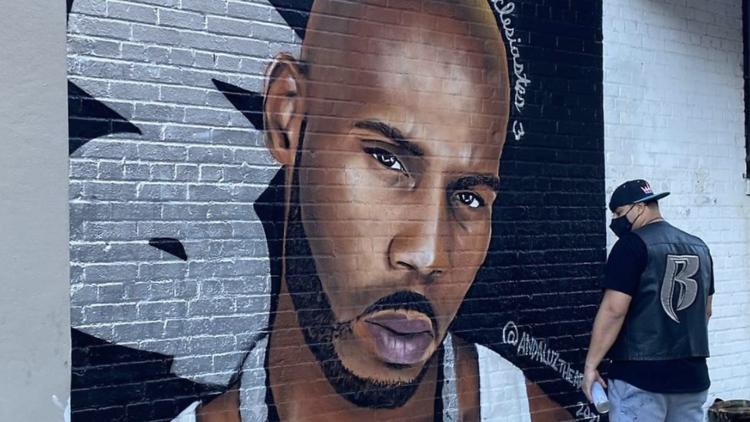 DMA mural