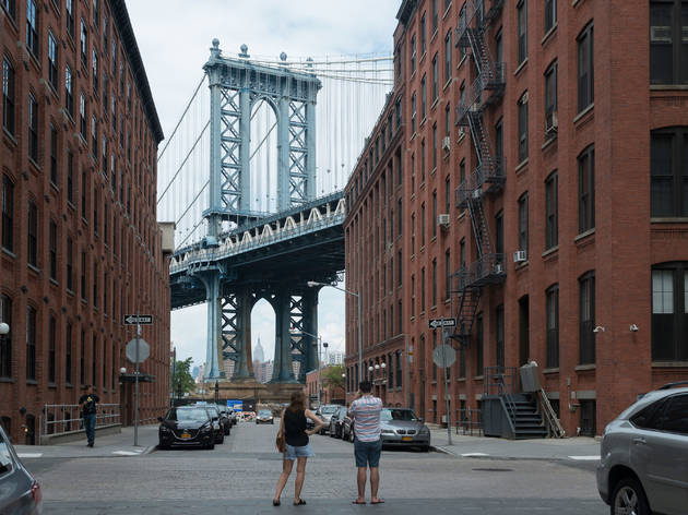Manhattan Bridge view