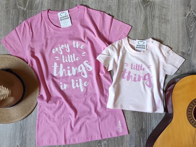 T-shirts da Wishirt