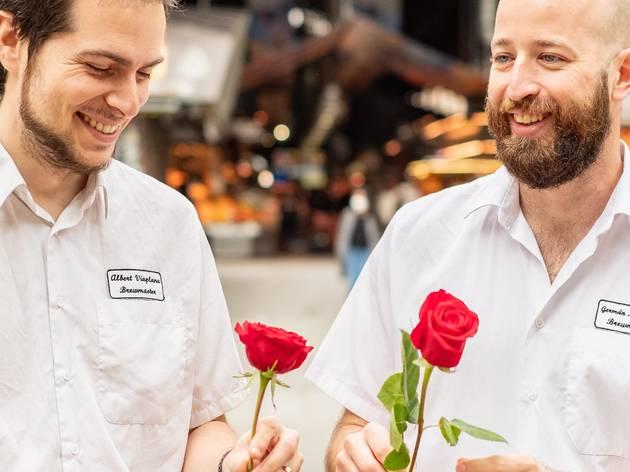 Moritz, la Rosa, Sant Jordi 2021