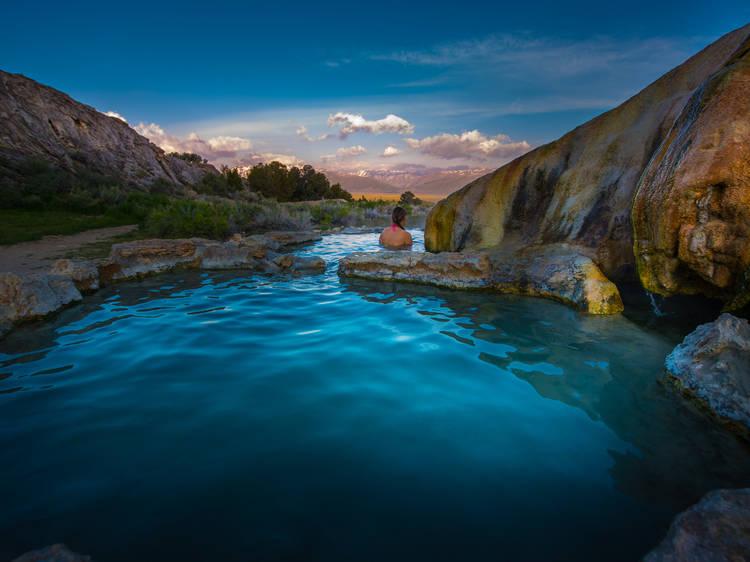 The best California hot springs