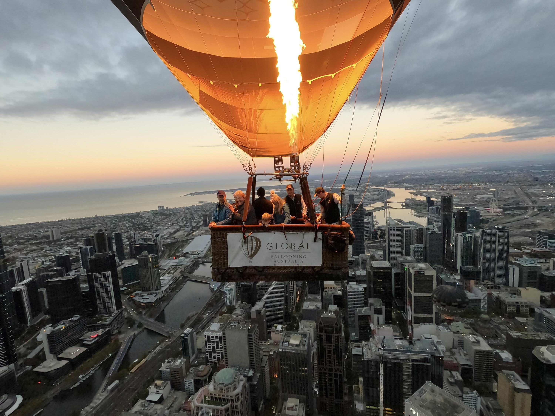 Global Ballooning Australia Melbourne ride
