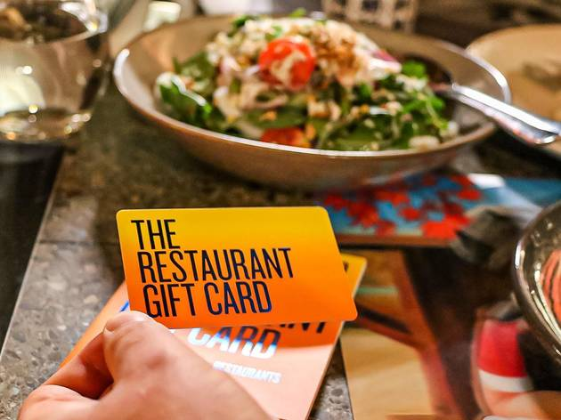 This gift card can be used at restaurants across Australia that accept eftpos