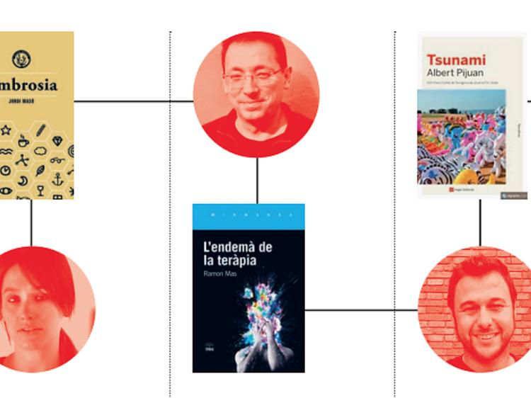 Los 8 libros que recomiendan los autores del momento para este Sant Jordi
