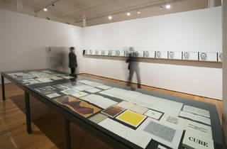 Exposición: El libro como presente continuo. Libros de artista alrededor de las poéticas conceptuales Foto: Centro de Arte Tecla Sala