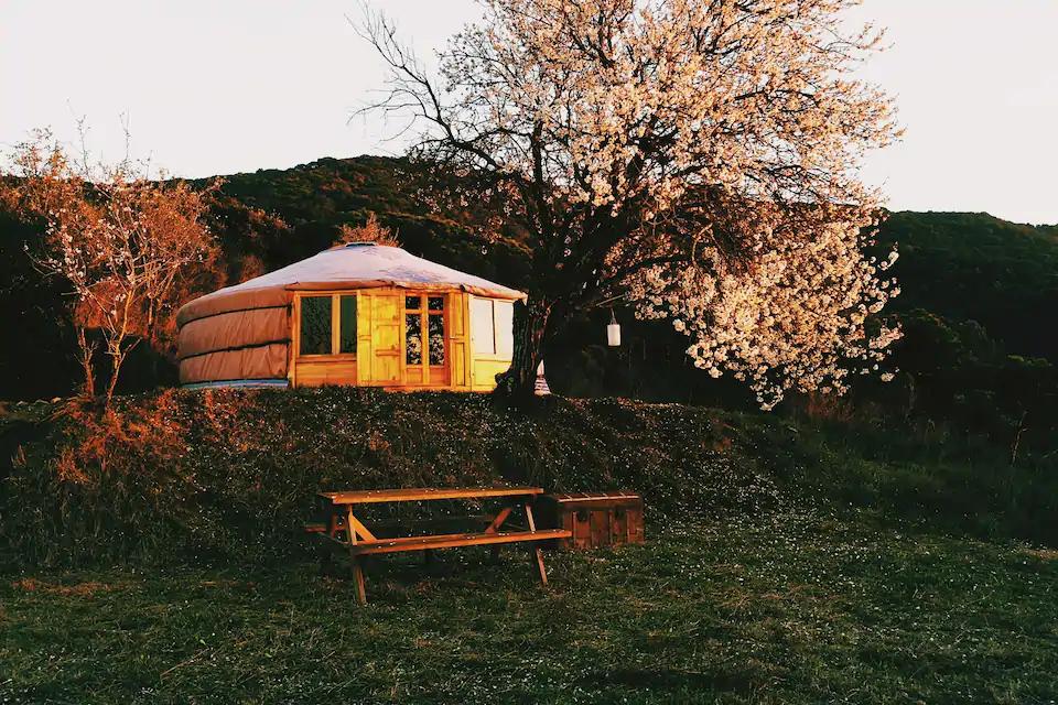Airbnb, Yurta