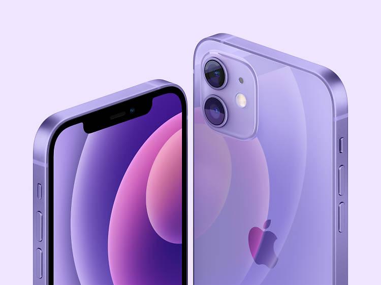 紫色 iPhone 12/新一代 Apple TV 4K