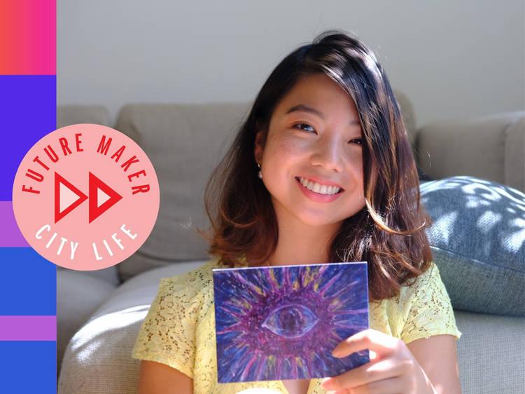 Jo Bautista: The Filipina artist using postcards to spread hope