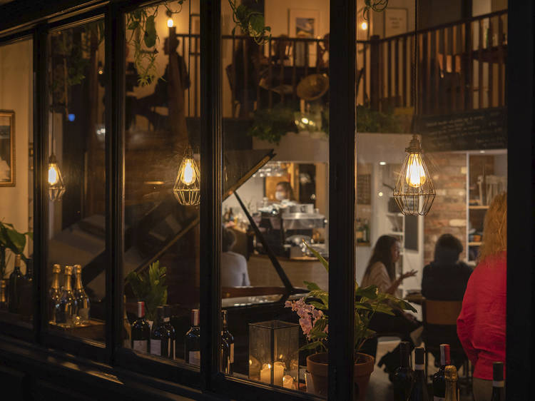 Go to Clerkenwell's classical caff