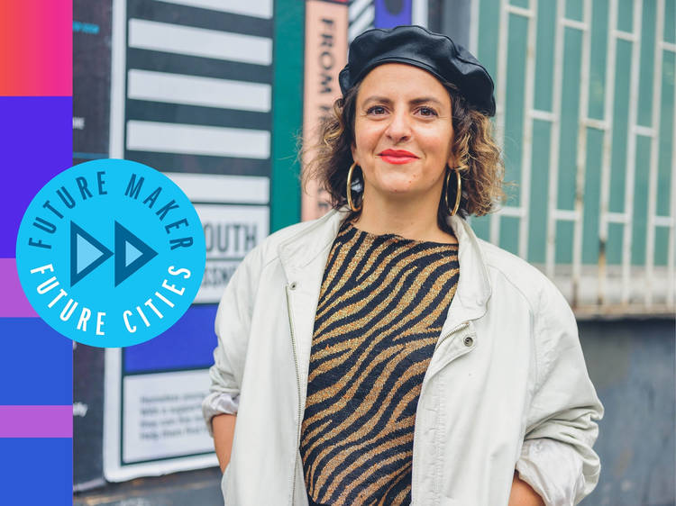 Camille Walala: The London artist painting the streets happier