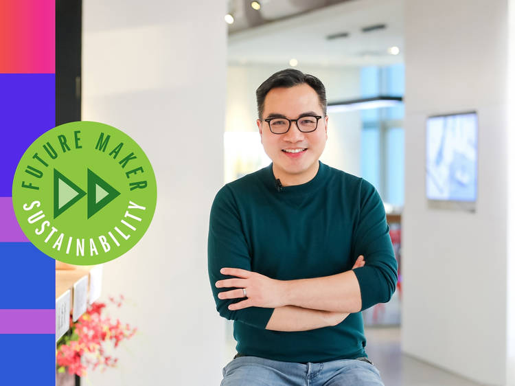 David Yeung: The eco-warrior making the meat-free lifestyle cool in Hong Kong