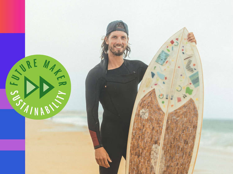 Andreas Noe: The 'Trash Traveller' cleaning up Portugal's coast