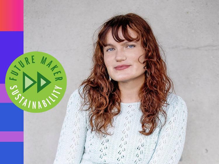 Lindsay Rose Medoff: The entrepreneur fighting textile waste in Los Angeles