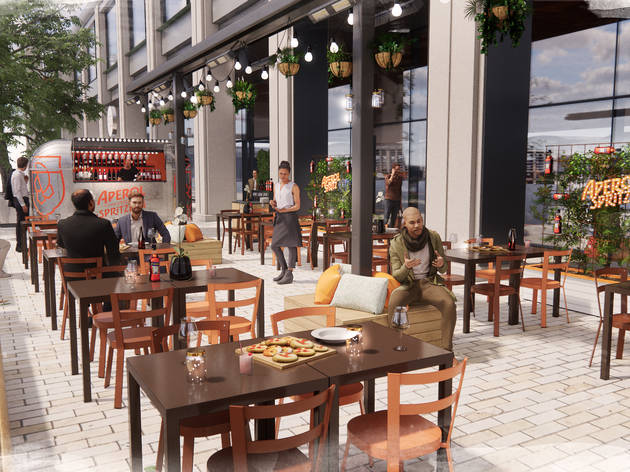 Ginormous Italian food market Eataly is opening at Liverpool Street this month