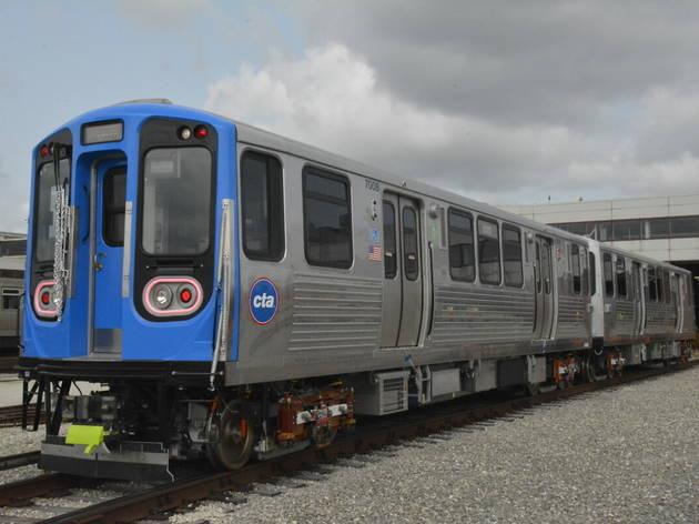 CTA series 7000 railcars
