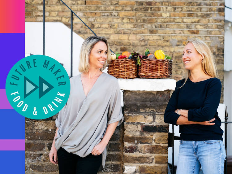 Tessa Clarke + Saasha Celestial-One: The food-sharing superheroes from London