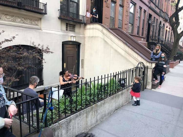 Free outdoor garden concerts on the Upper West Side