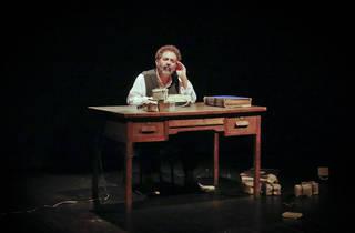 La última cinta de Krapp (foto: Teatro Lagrada)