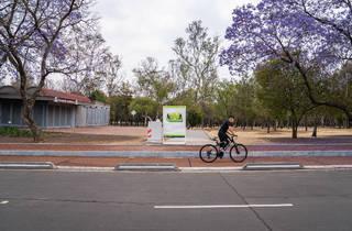 Ciclovía Inteligente en el Bosque de Chapultepec