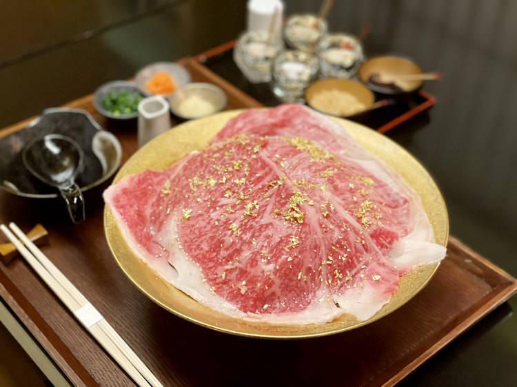 松阪牛ラーメン ひとりしゃぶしゃぶ 松虎