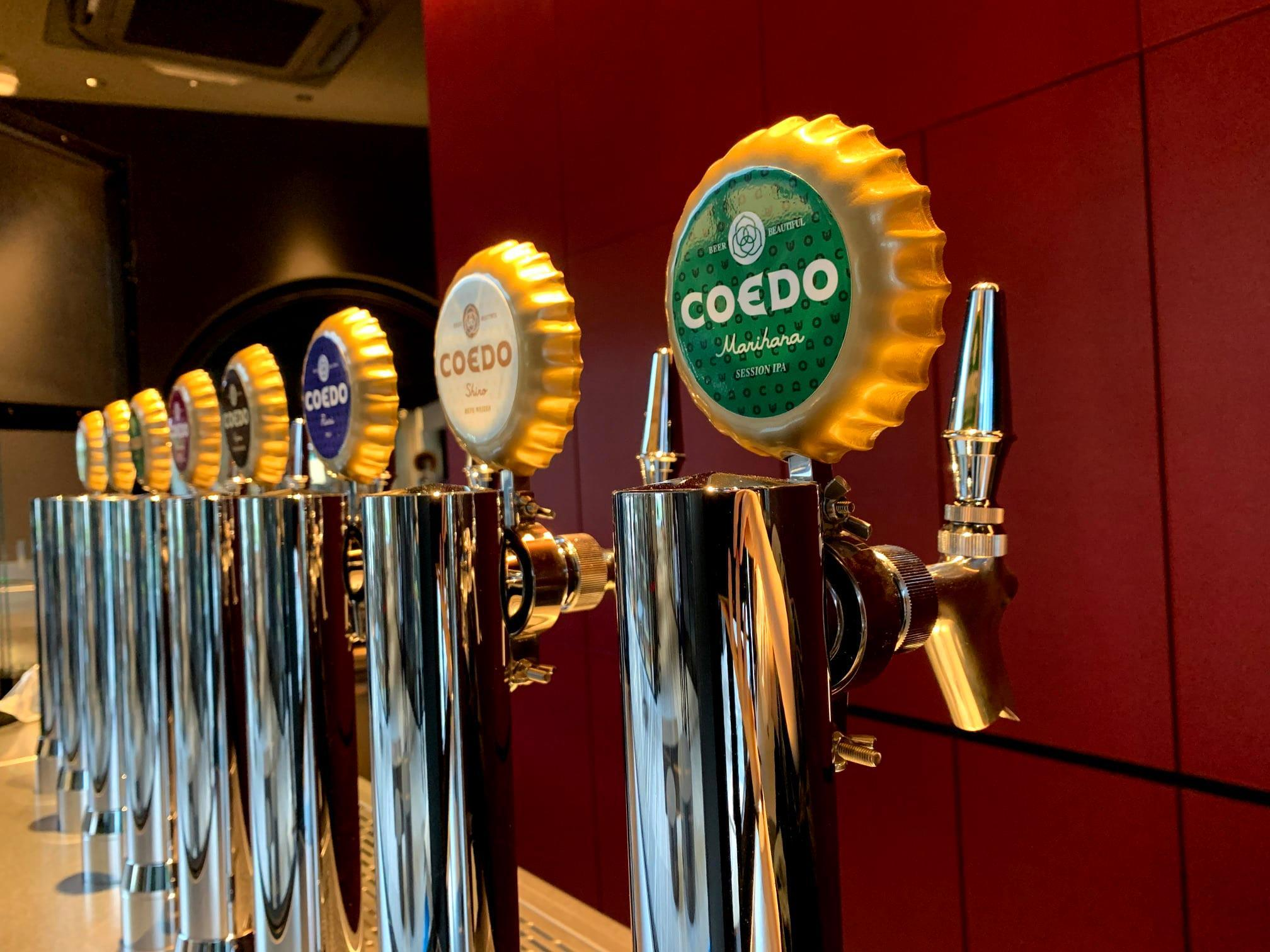 Coedo Brewery The Restaurant Kawagoe