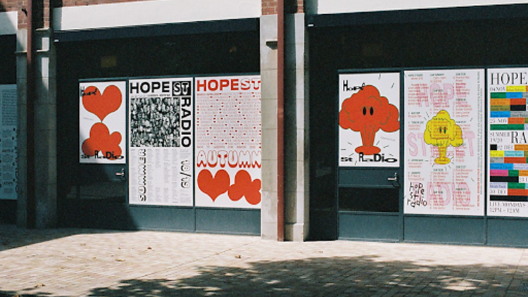 Hope St Radio in Collingwood Yards