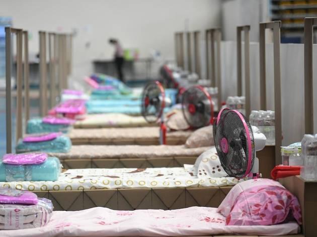 In pictures: สำรวจสภาพโรงพยาบาลสนามในเขตกรุงเทพมหานคร