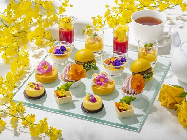 Conrad Tokyo afternoon tea
