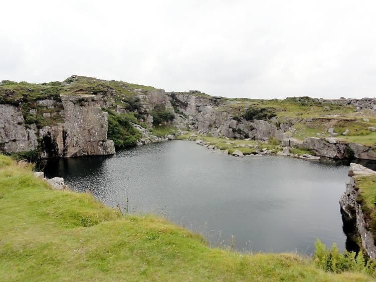 Goldiggins Quarry, Minions, Cornwall