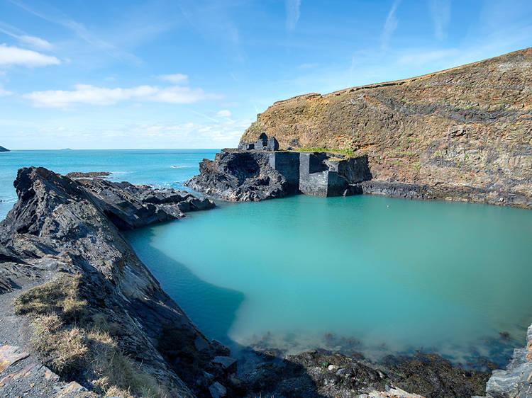 Blue Lagoon, Pembrokeshire, Wales