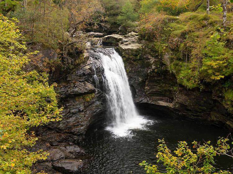 Falls of Falloch, Crianlarich, Scotland