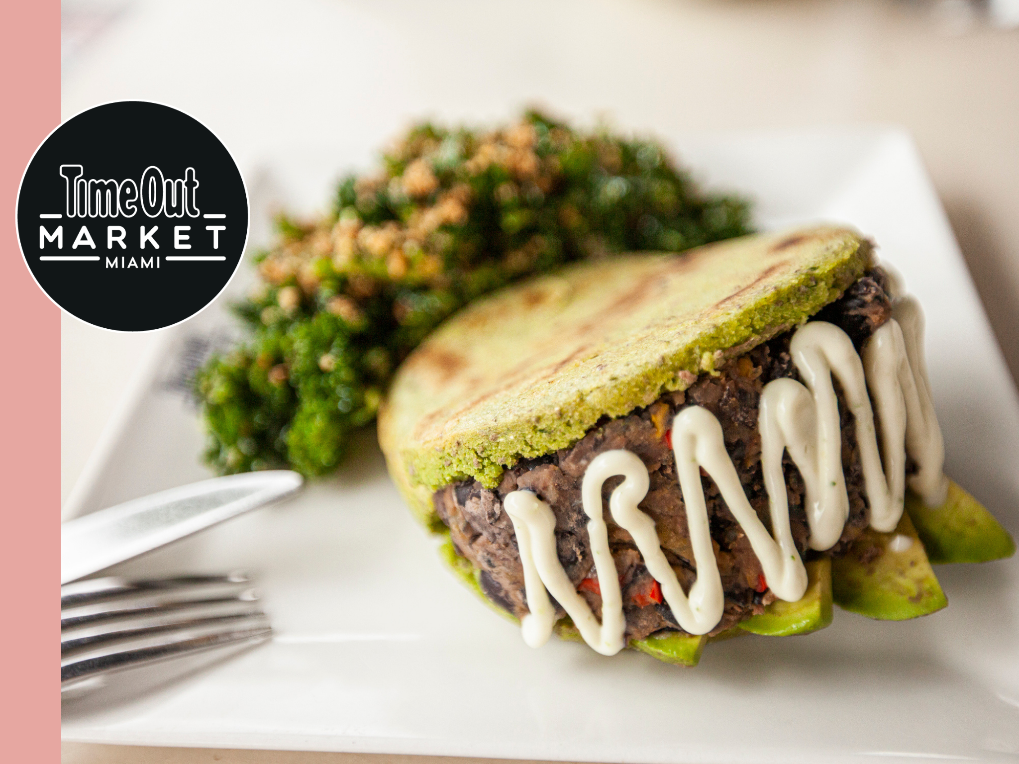 Food Envy: Plant power arepa at Love Life Cafe