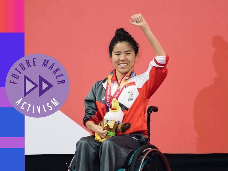 Yip Pin Xiu: The Singaporean Paralympian speaking up on disability issues