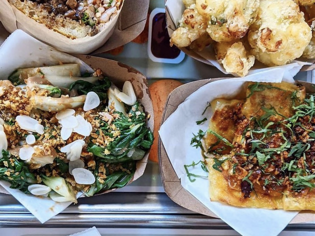 This Lower East Side restaurant serves Chinese-inspired vegan cuisine sure to delight the strictest carnivores