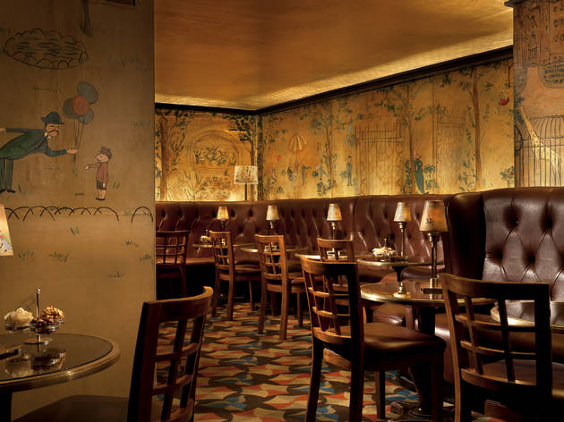 Bemelmans Bar at the Carlyle Hotel