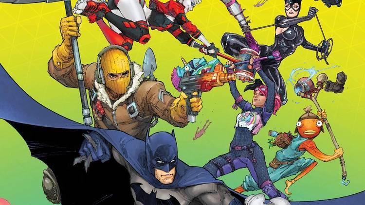 Ilustración de Batman / Fornite Punto Cero