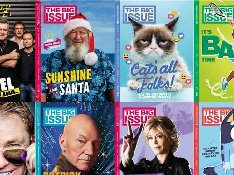 Six-month subscription to The Big Issue, $90