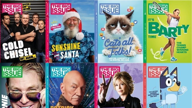 The Big Issue magazine covers