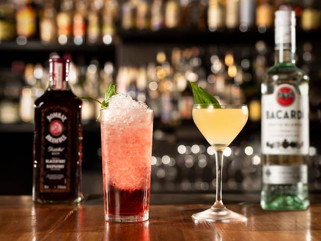Burrow Bar YCK cocktails