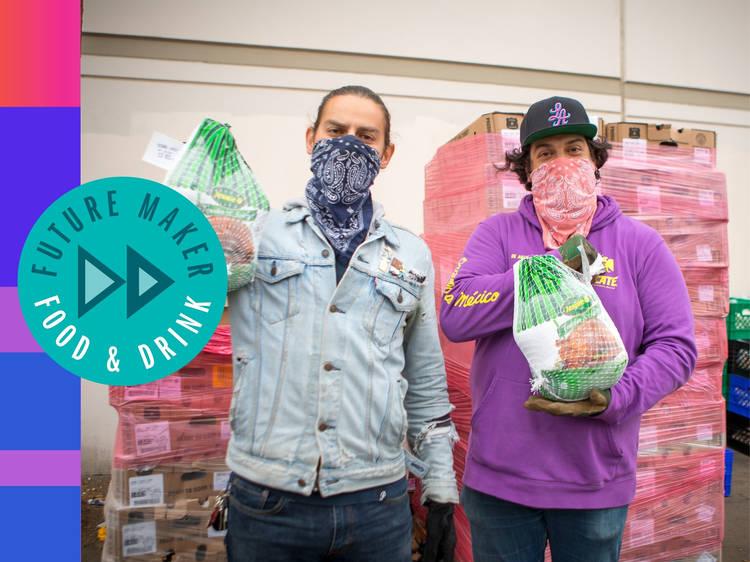 Othón Nolasco + Damian Diaz: The L.A. activists feeding undocumented restaurant workers